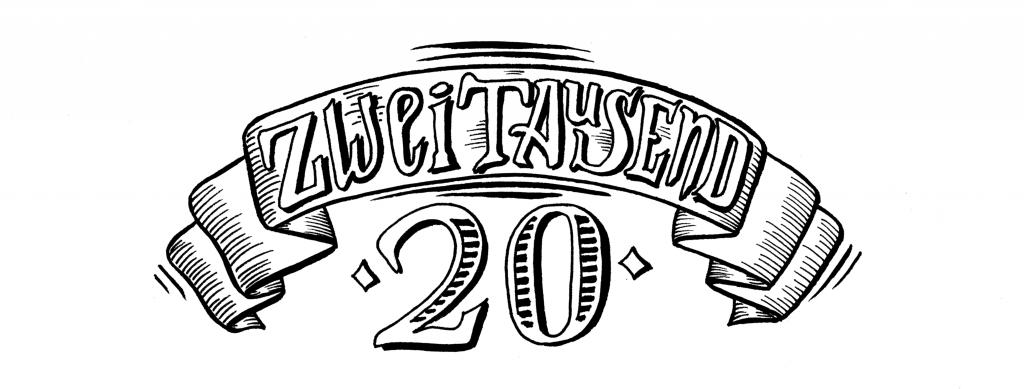 Silvester Handlettering 2020